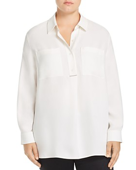 Lafayette 148 New York Plus - Prianka Silk Blouse