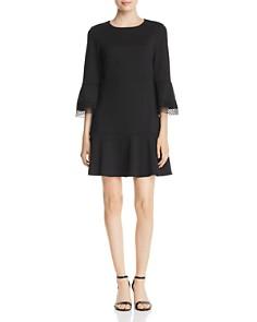 Le Gali - Laura Lace-Trimmed Flounce Dress - 100% Exclusive