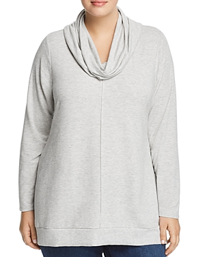 Cupio Plus Cowl-Neck Sweatshirt