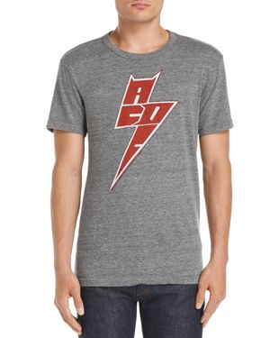 CHASER Men'S Ac/Dc Graphic T-Shirt in Gray