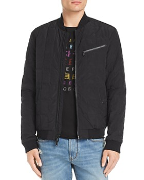 John Varvatos Star USA - Quilted Bomber Jacket