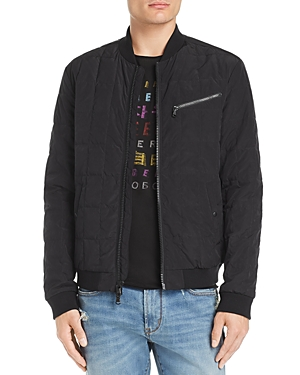 John Varvatos Star Usa Quilted Bomber Jacket