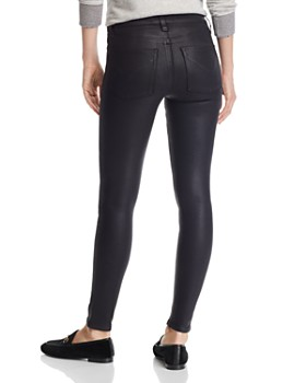 22d14f8021eb1 ... Hudson - Nico Mid Rise Ankle Super Skinny Jeans in Noir Coated