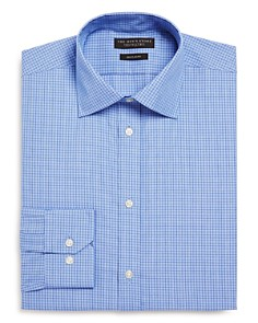 The Men's Store at Bloomingdale's - Windowpane Regular Fit Dress Shirt - 100% Exclusive