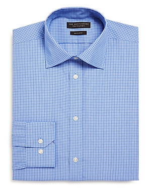 The Men's Store at Bloomingdale's Windowpane Regular Fit Dress Shirt