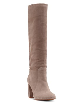 VINCE CAMUTO - Women's Sessily Round Toe High-Heel Boots - 100% Exclusive