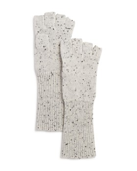 AQUA - Donegal Cashmere Fingerless Gloves - 100% Exclusive