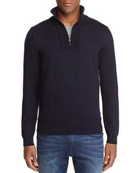 BOSS - Eleo Quarter-Zip Sweater - 100% Exclusive