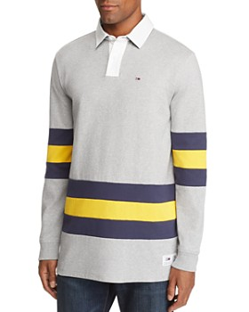Tommy Jeans - Patchwork Striped Rugby Shirt