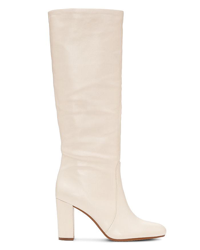 c2eb3f143c22 VINCE CAMUTO - Women s Sessily Round Toe Slouchy High-Heel Boots - 100%  Exclusive