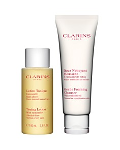Clarins - Cleansing Essentials Duo for Normal/Combination Skin ($39 value)
