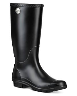 UGG® - Women's Shelby Matte Round Toe Rain Boots