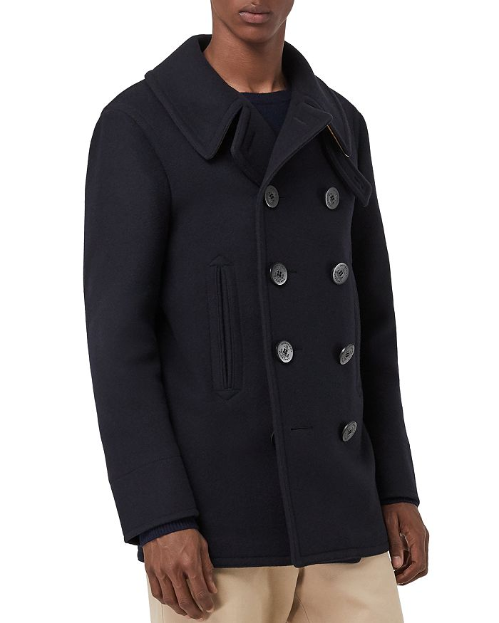 Burberry - Claythorpe Double-Breasted Peacoat