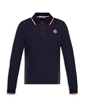 Moncler - Boys' Long-Sleeve Polo Shirt - Big Kid
