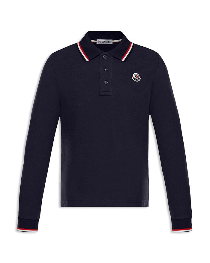 b9099b144 Moncler Boys  Long-Sleeve Polo Shirt - Little Kid