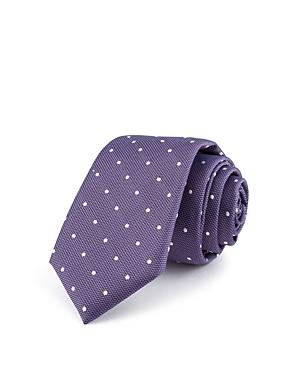 Bloomingdales Boys Dotted Tie  100 Exclusive