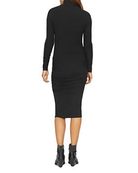 Sanctuary - Long-Sleeve Ruched Midi Dress