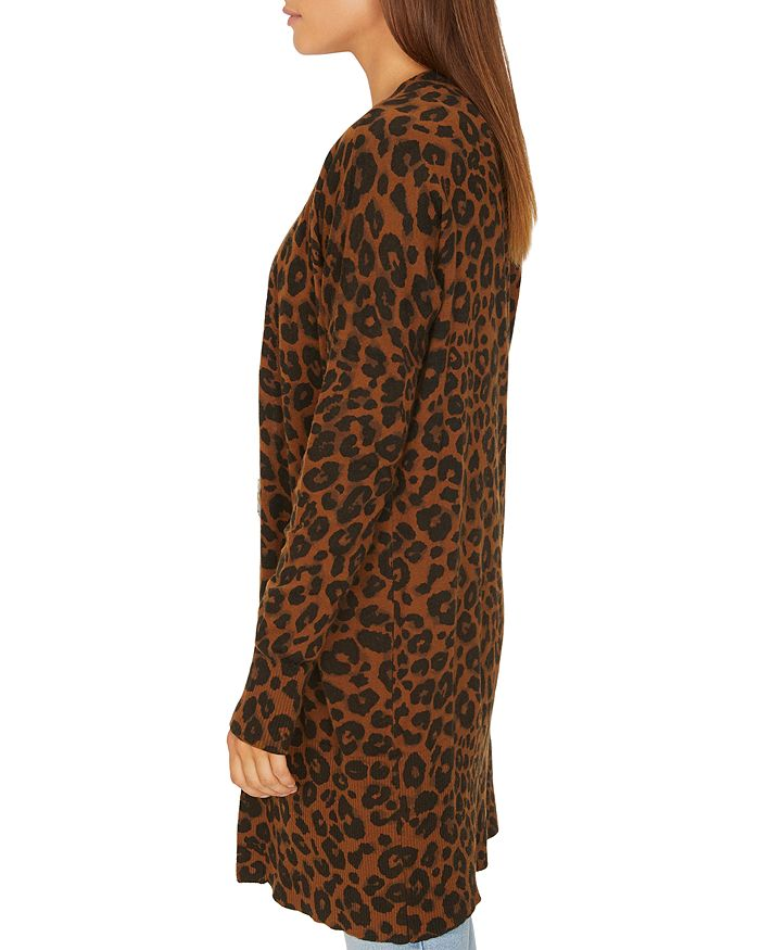 5ba186b4bc3 Sanctuary - Lenox Leopard Print Cardigan
