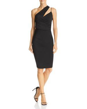 Michelle Mason Asymmetric Draped Dress