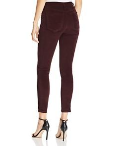 Joe's Jeans - Velvet Skinny Jeans in Aubergine