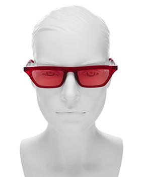 Quay - Women's Finesse Slim Square Sunglasses, 55.5mm