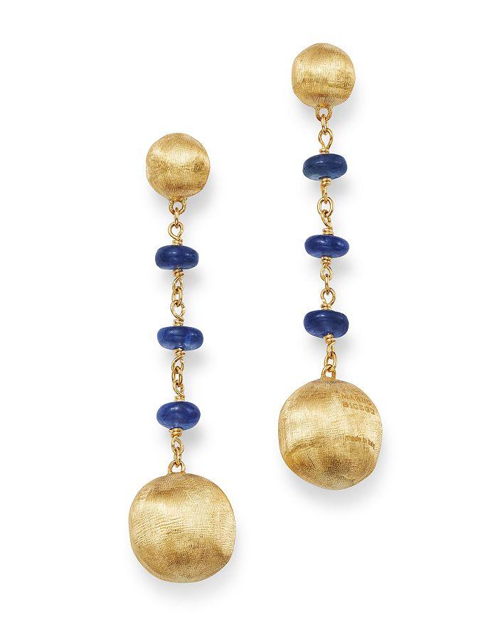 Marco Bicego - 18K Yellow Gold Africa Precious Sapphire Drop Earrings