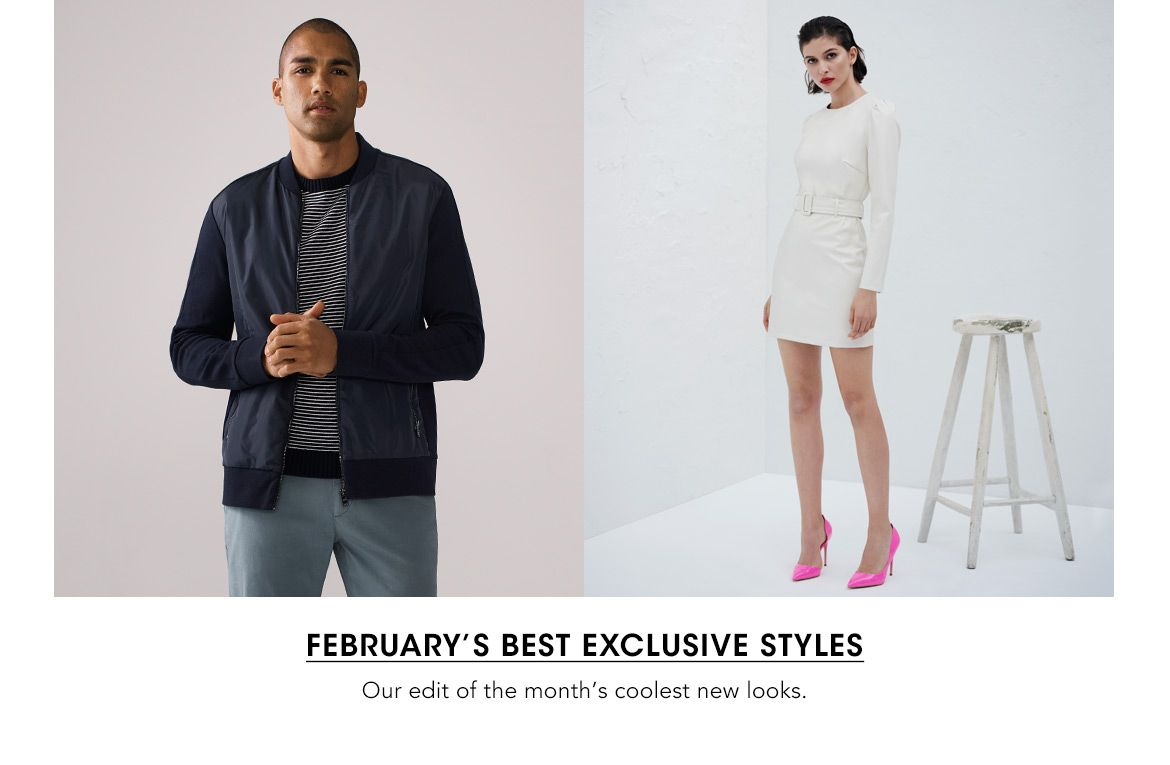 Shop our edit of the month's coolest new looks
