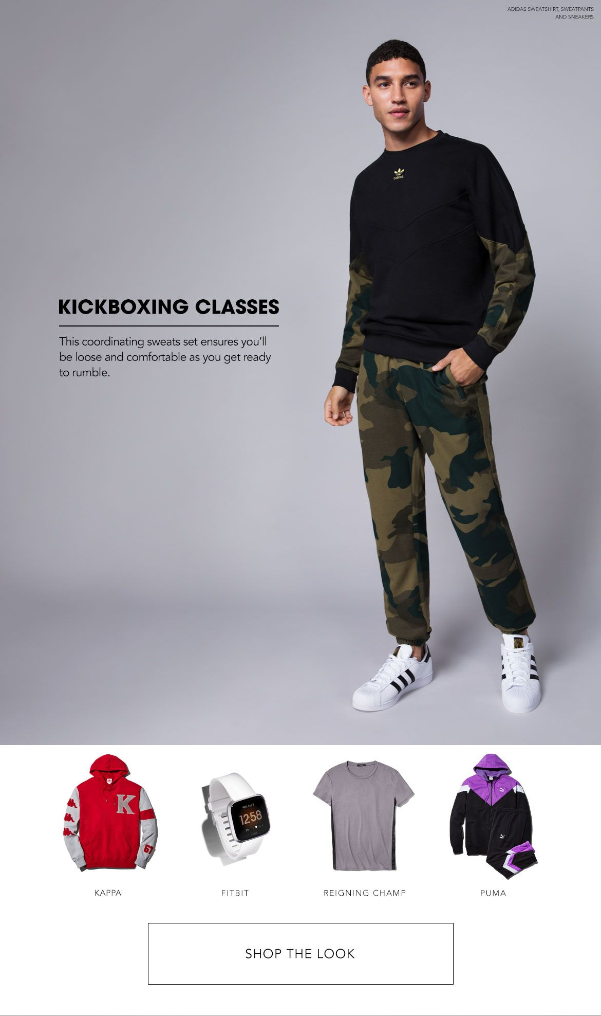 Styled for Kickboxing Classes