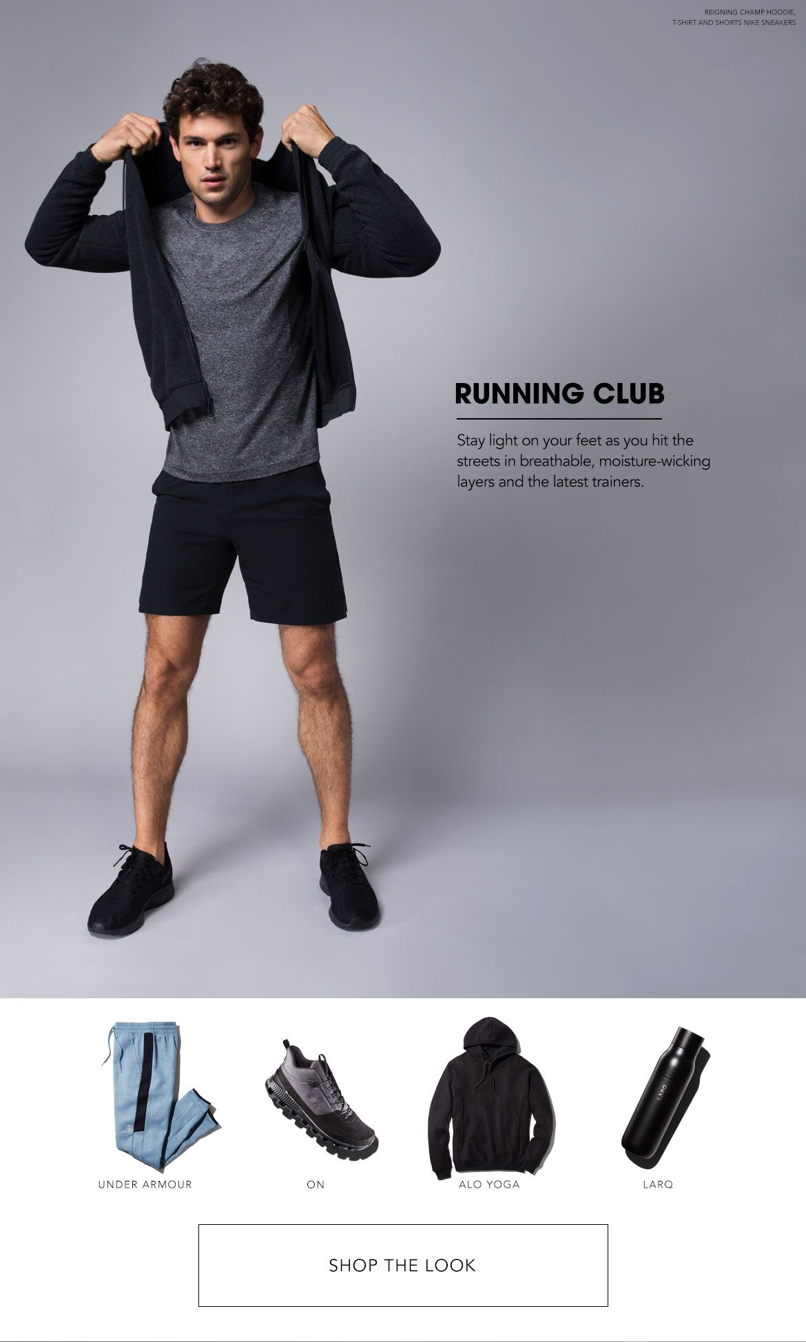 Styled for Running Club