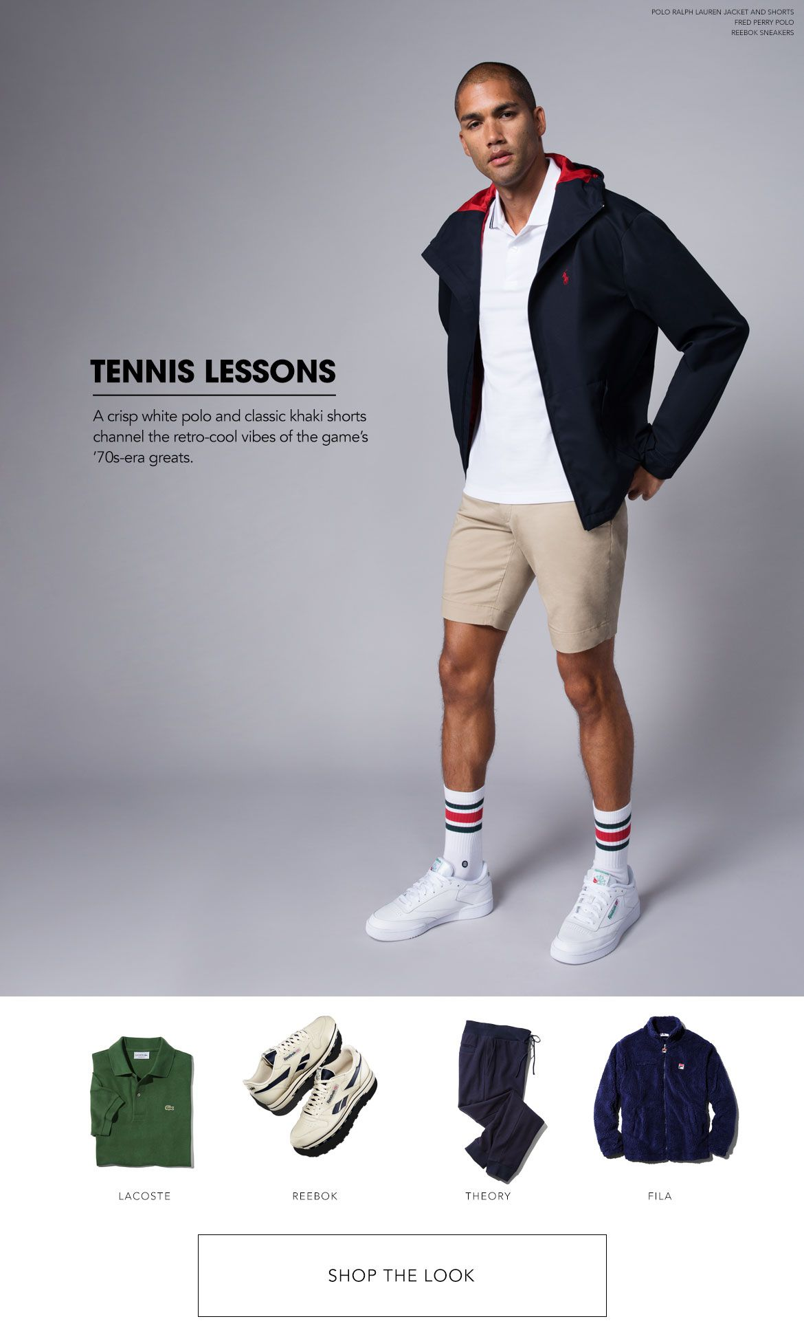 Styled for Tennis Lessons