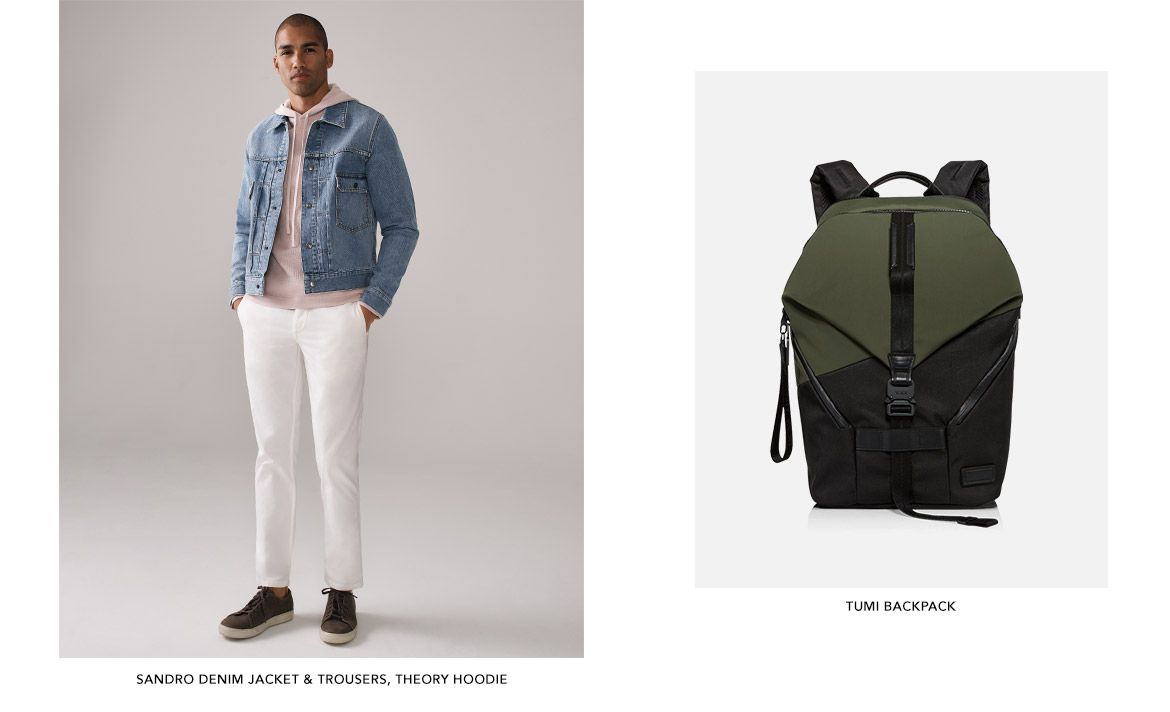 Shop exclusive pieces for men you won't find anywhere else