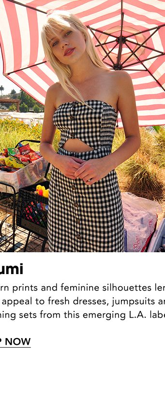 b9bbc1d7faa Names to Know. Le Rumi. Modern prints and feminine silhouettes lend It-girl