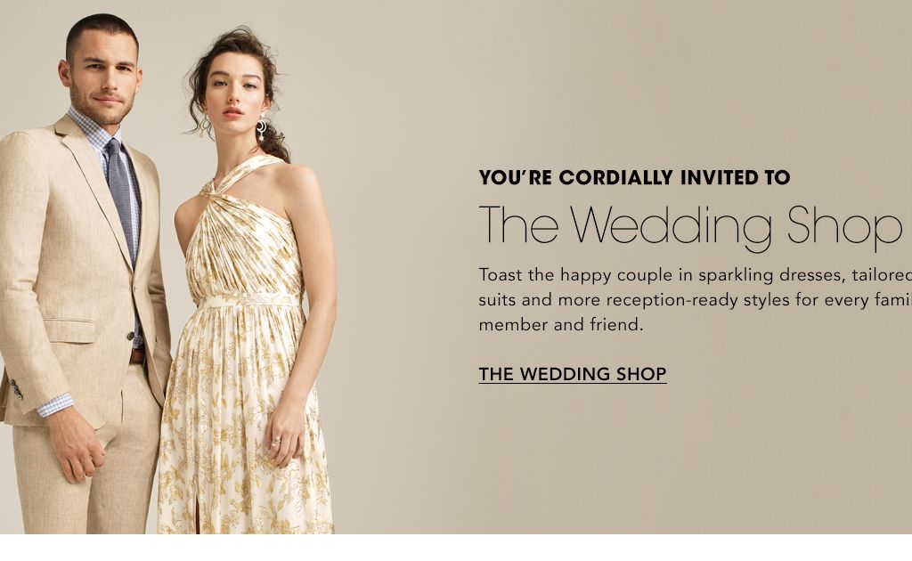 64bf5f51316 You re cordially invited to The Wedding Shop. Toast the happy couple in  sparkling
