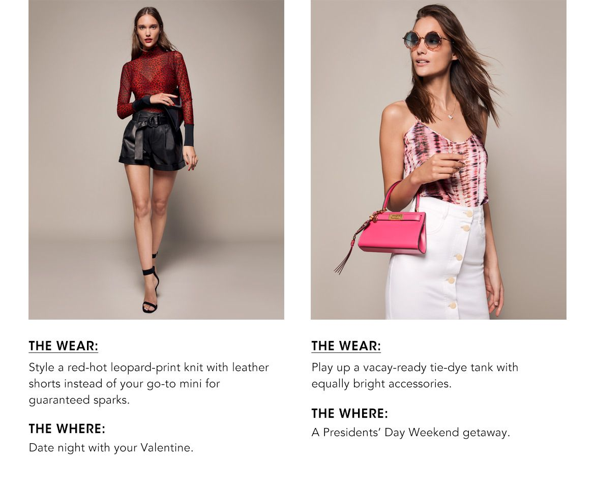 What to Wear Where Closet. Outifts for every occasion on your social Calendar