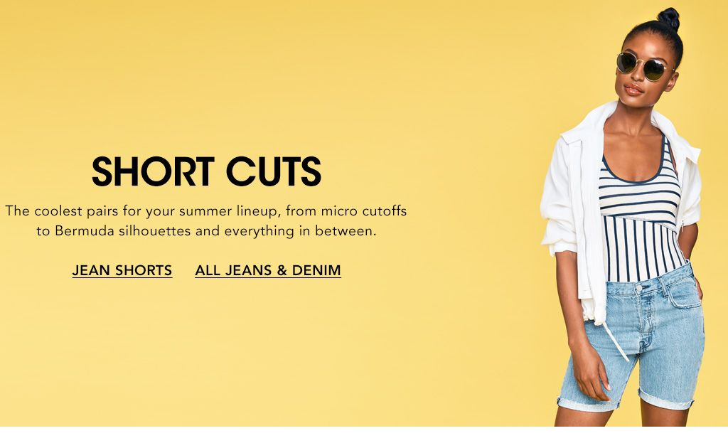 2ad7b93ed47 Short Cuts. The coolest pairs for your summer lineup, from micro cutoffs to  Bermuda
