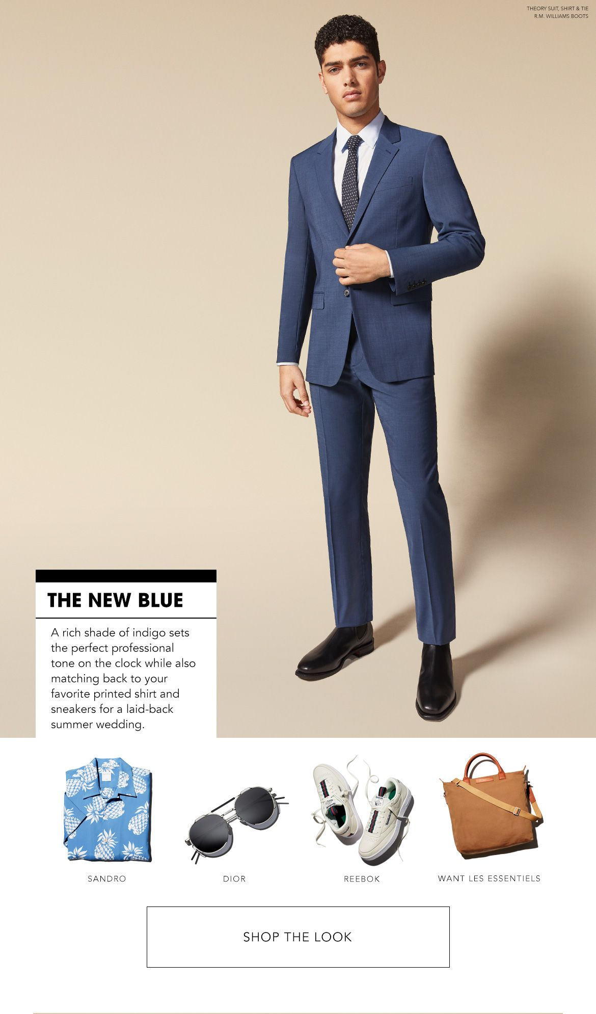 Styled for the New Blue