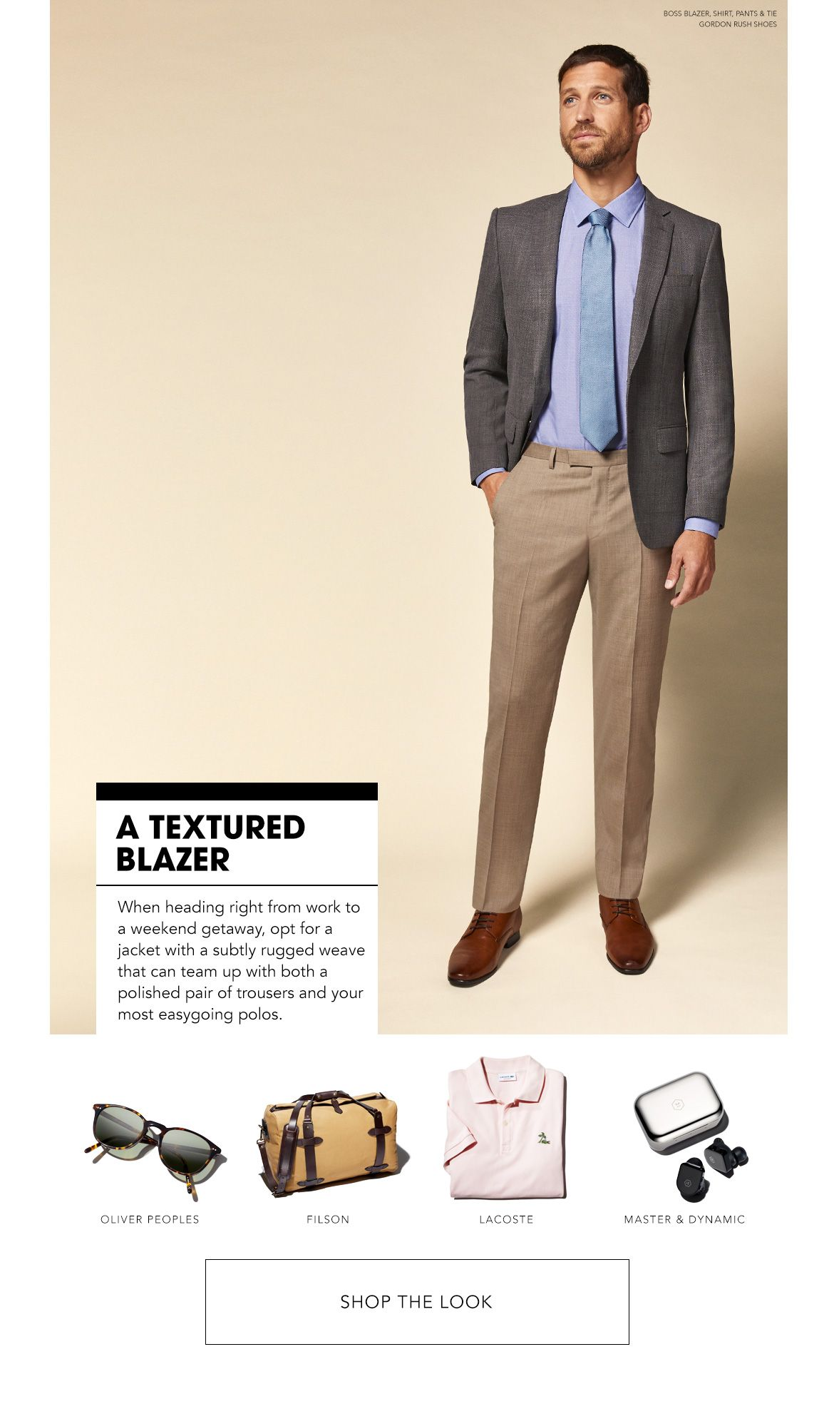 Styled for a Texture Blazer