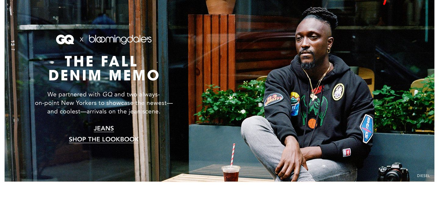 Produced by G. Q. The fall denim memo. We teamed up with G. Q. magazine and two always-on-point New Yorkers to showcase the newest, and coolest, arrivals on the jean scene.