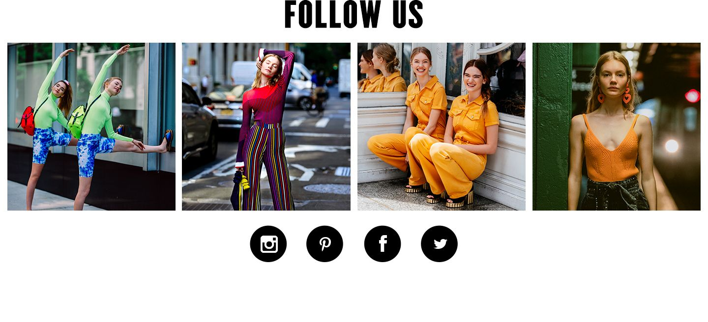 Follow Bloomingdale's fashion on social media.