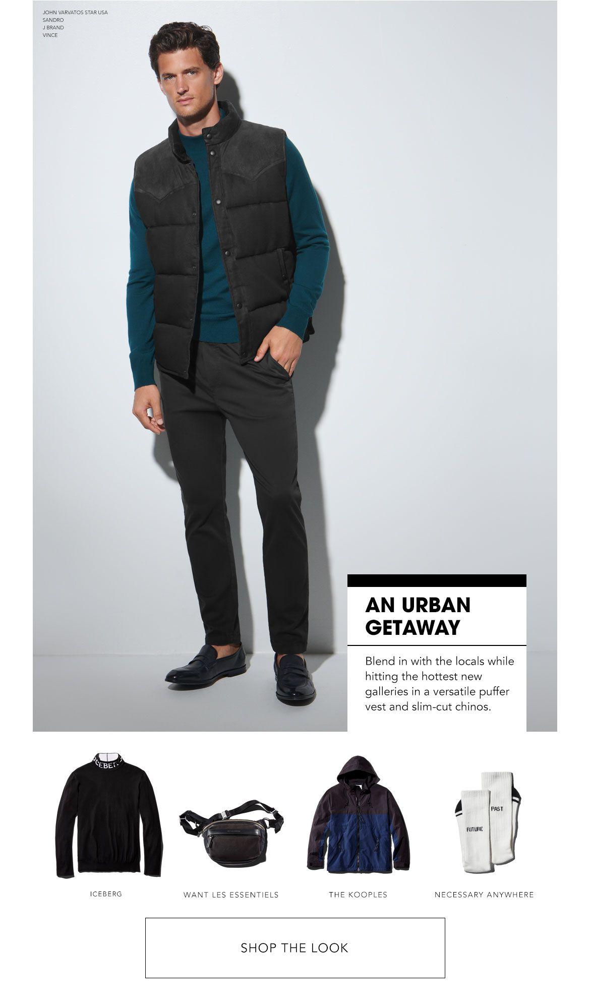 Shop An Urban Getaway