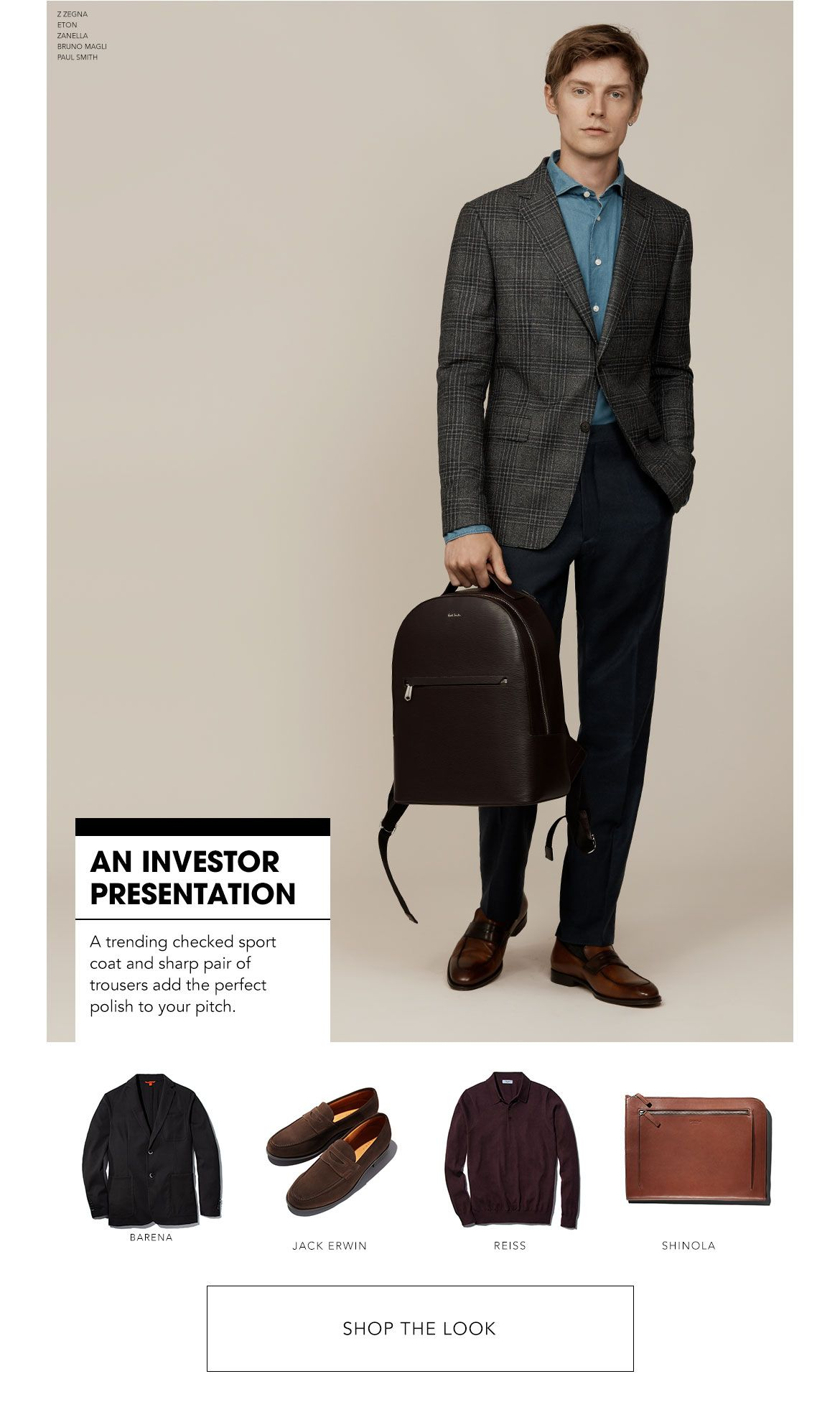 Styled for an Investor Presentation
