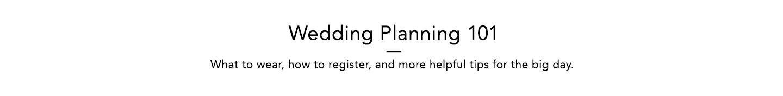 Wedding Planning 101 desktop