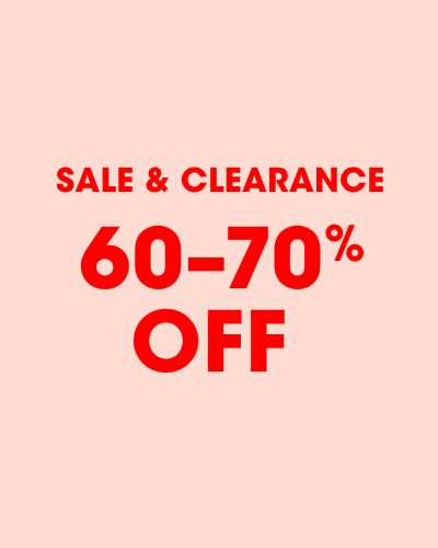 Sale and clearance 60 to 70 percent off
