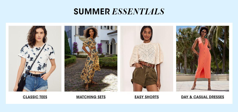 Explore Summer Essentials