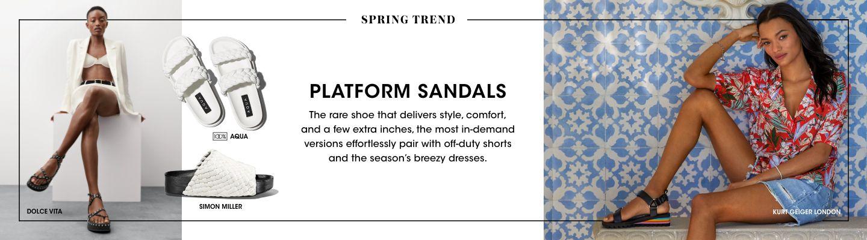 Shop Platform Sandals