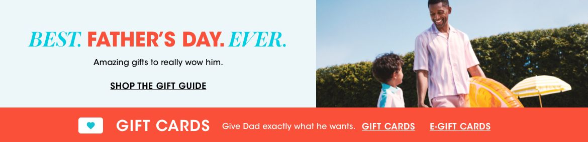 Best. Fathers Day. Ever. Amazing gifts to really wow him. Gift cards, give dad exactly what he wants.$$men fathers day gifts