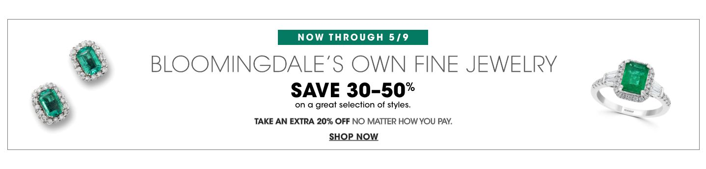Save on Bloomingdale's Own Fine Jewelry