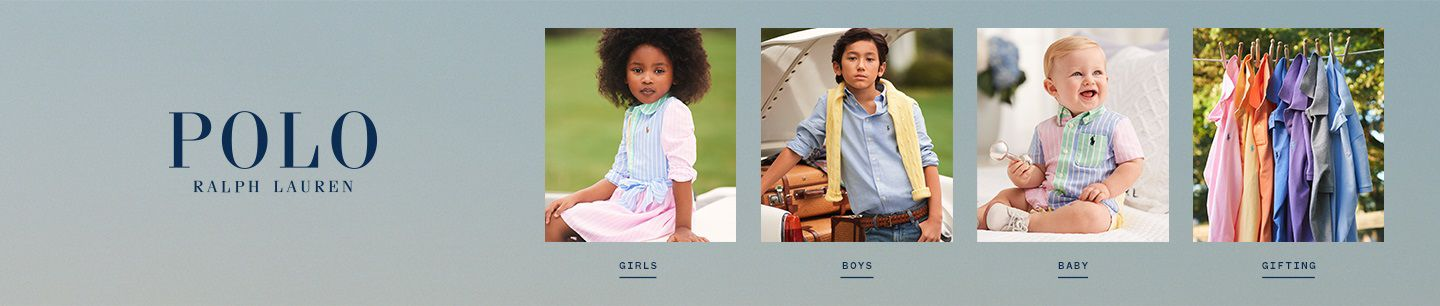 Shop Polo Ralph Lauren for Children
