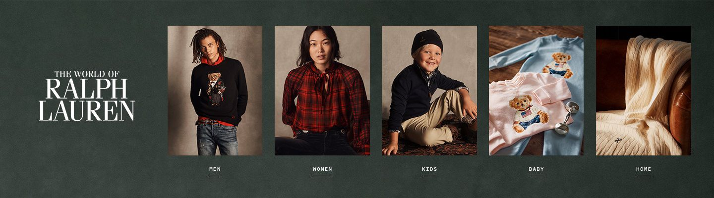 Shop the world of Ralph Lauren for men, women, kids, baby and home