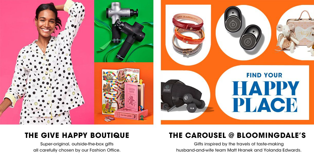 GIVE HAPPY BOUTIQUE AND THE CAROUSEL SHOP